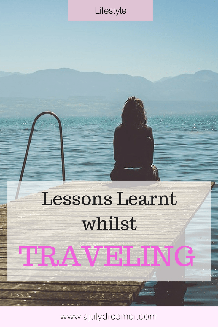 lessons learnt traveling