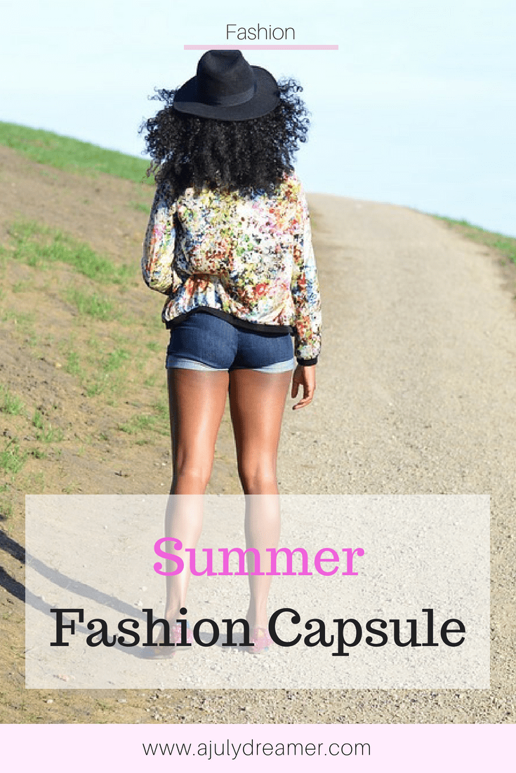 summer fashion capsule