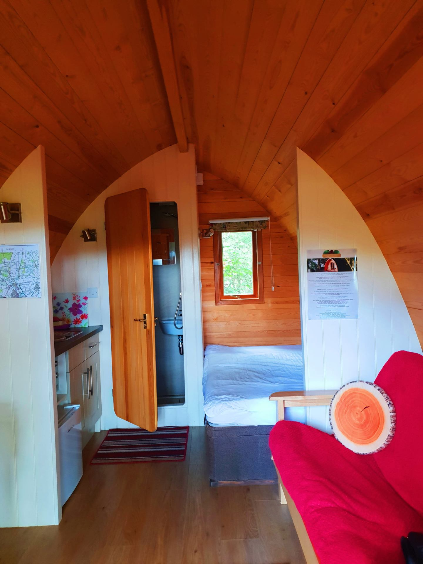Luxury glamping with West Stow Pods