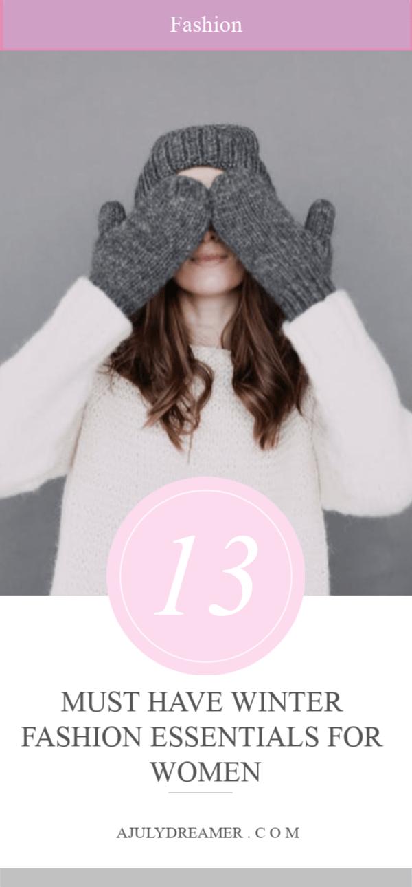 68b534a2684 13 Winter Fashion Essentials for Women ⋆ A July Dreamer