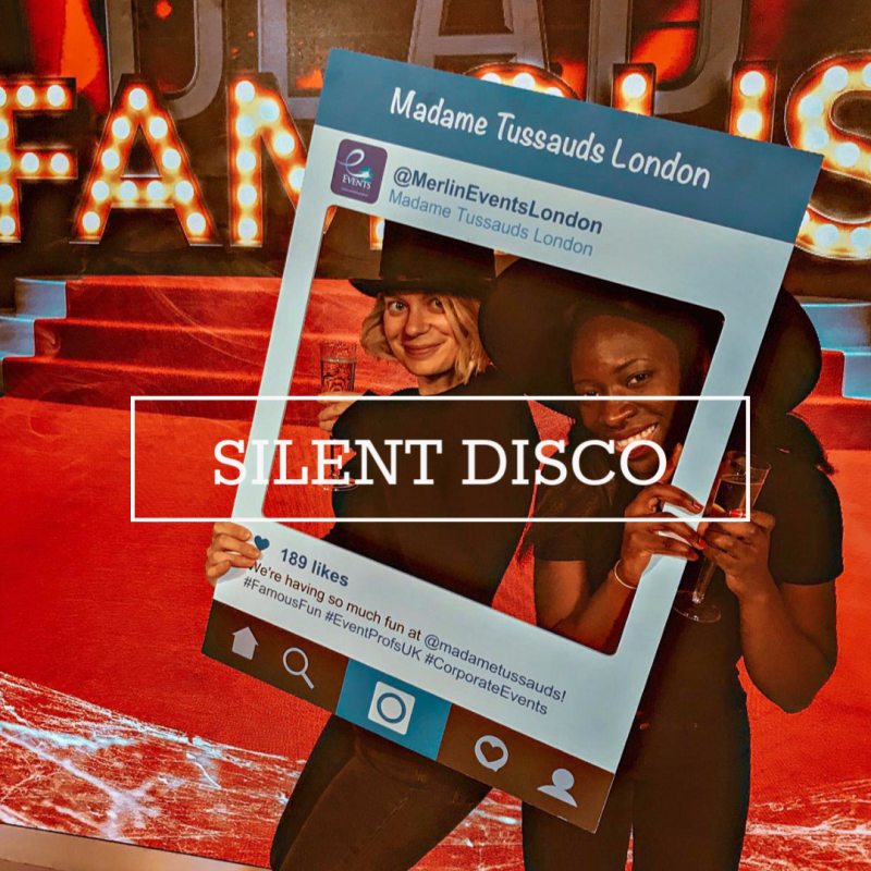 Silent Disco at Madame Tussauds London