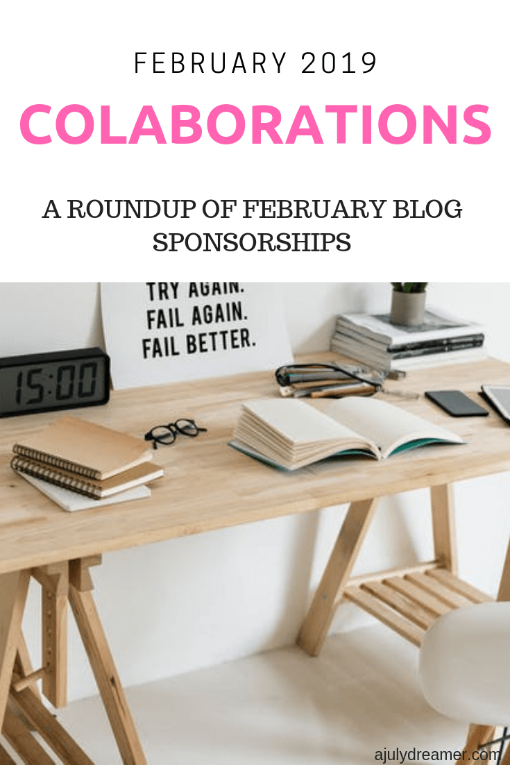 February 2019 Collaborations