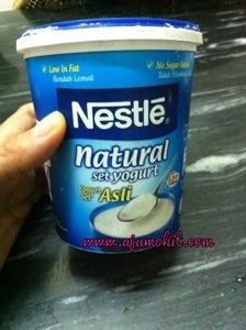 Resepi Ikan Tiga Rasa menggunakan Nestle Yogurt Asli