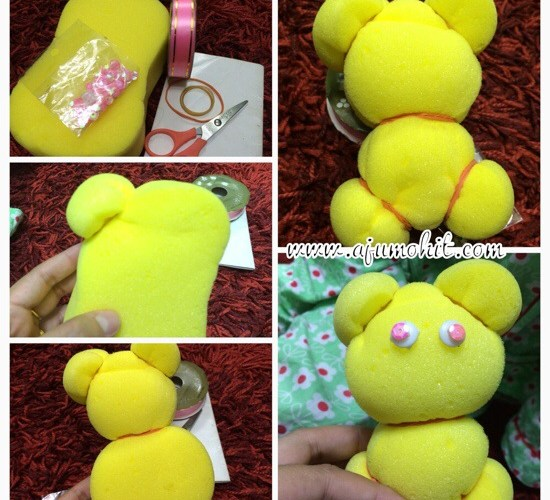 WW ~ DIY cute teddy bear