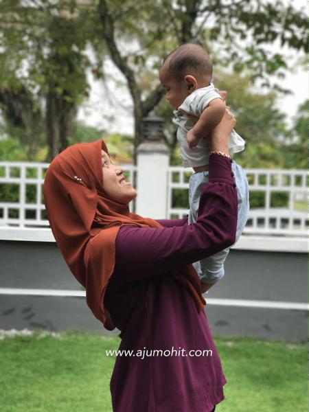 Ammar Muizz sudah 6 bulan