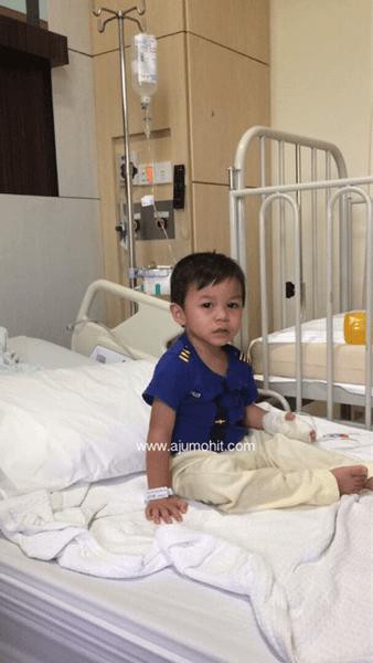 pengalaman anak kene rotavirus