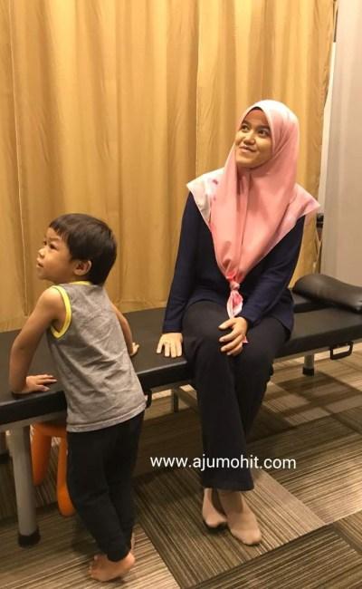 Pengalaman urutan belakang di CLM Sunway Damansara