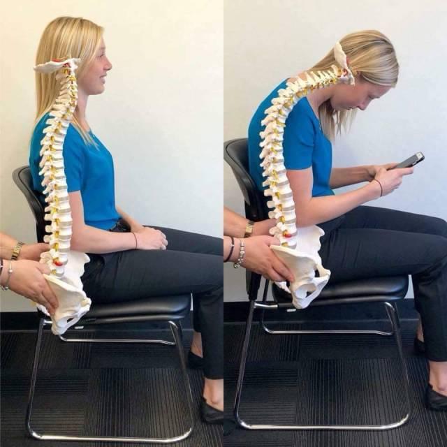 cara duduk yang betul dan tegak