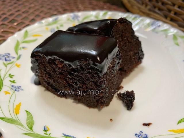 resepi kek coklat kukus moist ikut sukatan cawan