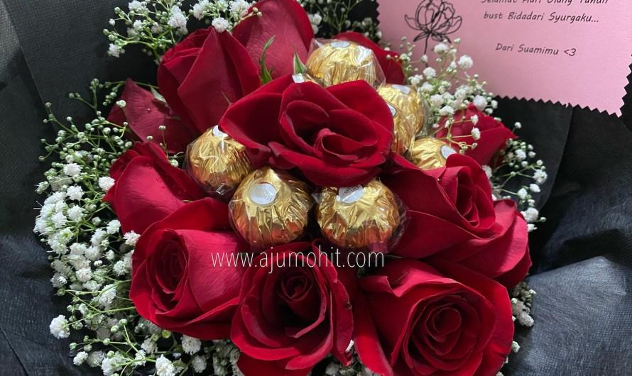 Surprise bunga dari suami, hadiah hari lahir