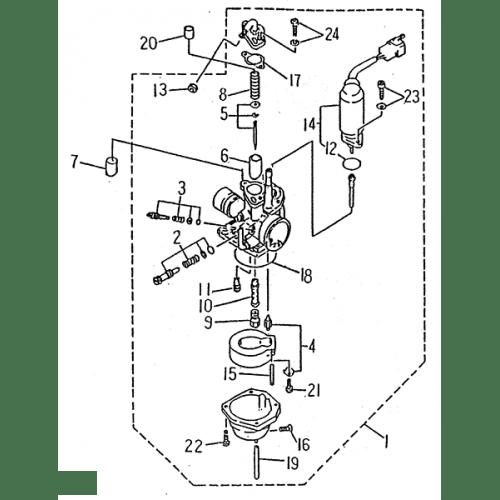 Carburetor Lrxsmc Atv 50 Mini