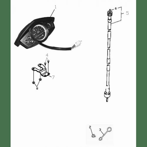 Speedometer (ADLY GTC-50)