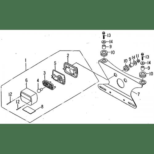 Tail Light (Barossa ATV 170)
