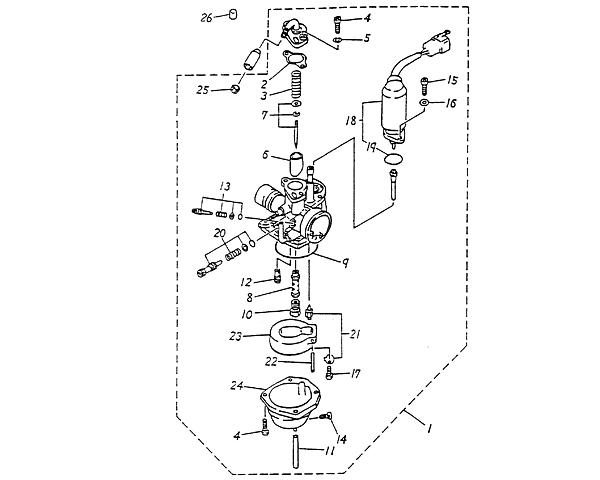 Carburetor (Blazer 50cc ATV)