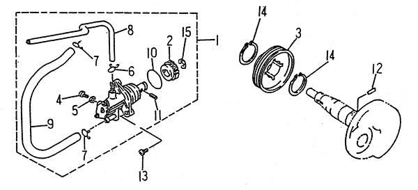 Oil Pump (LRX/SMC ATV 50 mini)