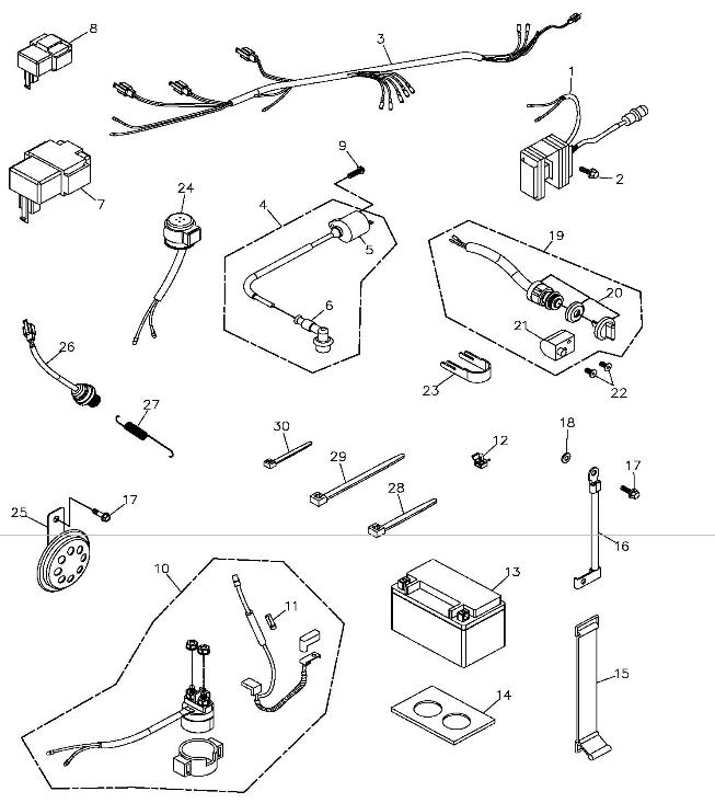 Thunder Kart Parts. Diagram. Auto Wiring Diagram