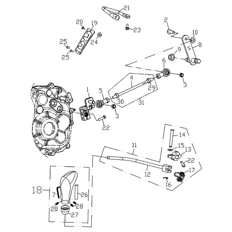 Gear Shift System