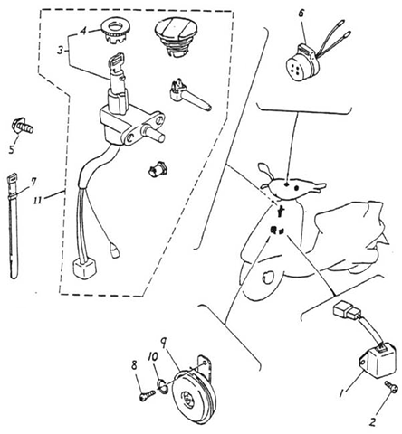 Motor Scooter Batteries Moped Batteries Wiring Diagram