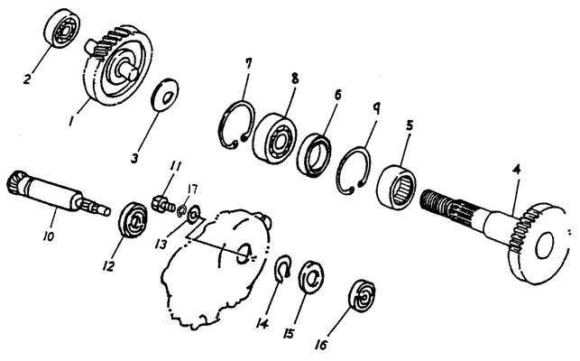 Transmission (Adly ATV 90cc 2T)