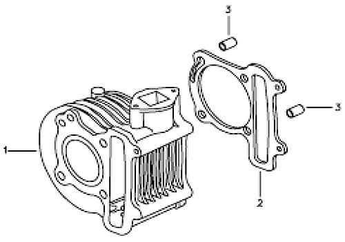 Cylinder (Silver Fox (4 Stroke))