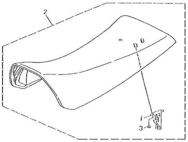 Seat (Barossa Silverhawk 250)