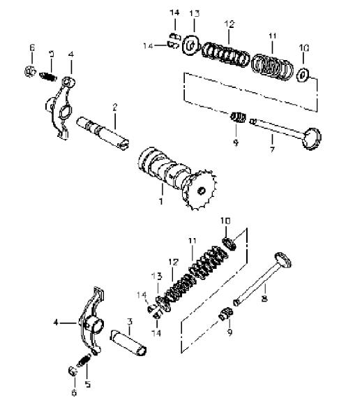 Kasea 50cc Scooter Engine Diagram Roketa 50Cc Scooter