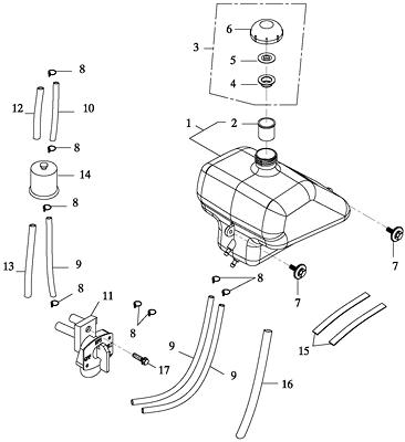 Fuel Tank (Adly GK-125 2009)