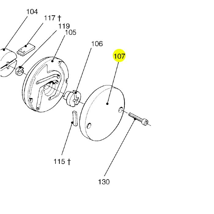 Edwards Vacuum 5 RV 5 Rotary Vane Pump, Single Phase, 115