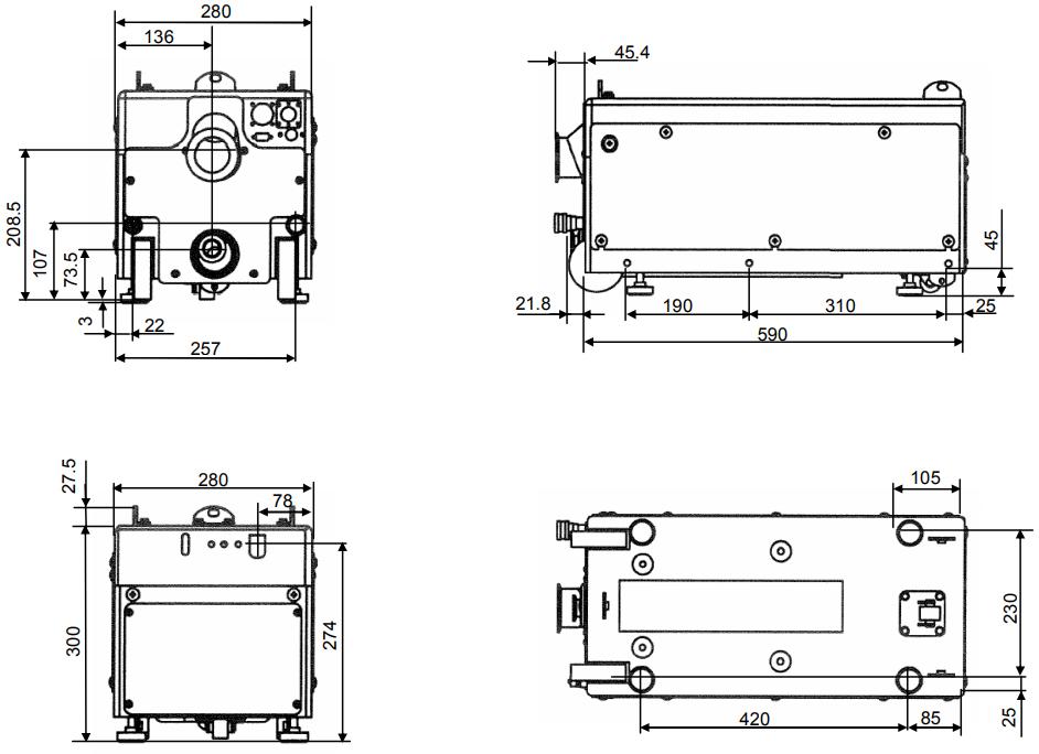 Fully Refurbished Toyota IPUP T100 L Dry Vacuum Pump