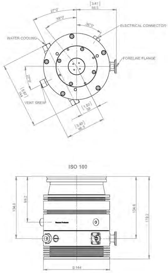 Agilent TwisTorr 304 FS Turbo Pump X3500-64001 pump