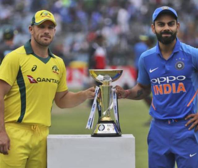 India Vs Aus  St Odi Stats Preview And Predicted Playing