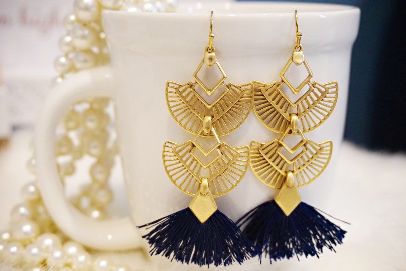Aida Tassel Earrings (3 in 1)