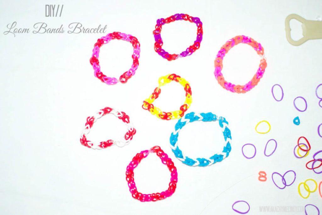DIY: Loom Bands Bracelet For Kids - Aka Chymecindy