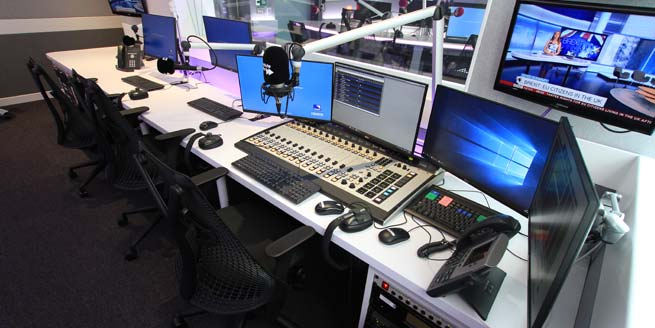 AKA Design  Radio studio furniture and voice over recording tables