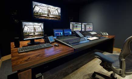 AKA Design  Technical Studio Furniutre desks for Avid