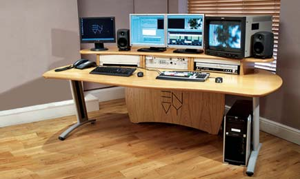 AKA Design  Editing desks for offline and online VFX