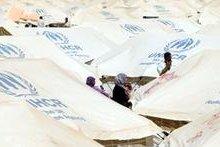 صورة الاردن: لاجئون سوريون في معسكر الزعتري يشتبكون مع قوات الامن