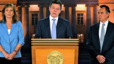 صورة رئيس كولومبيا مصاب بالسرطان