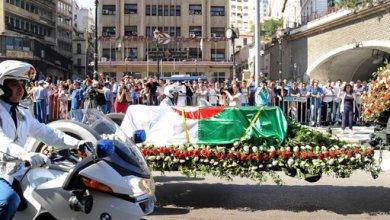 صورة الجزائر تشيّع رئيسها الأسبق بن جديد