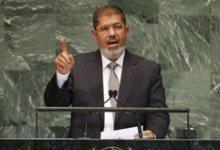 صورة الرئيس مرسى يبحث مع نظيره الأوغندى ملف مياه النيل وعددًا من القضايا