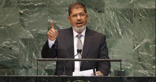 الرئيس مرسى يبحث مع نظيره الأوغندى ملف مياه النيل وعددًا من القضايا