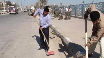 النجف : المحافظ مطالب بالغاء عقد شركة تركية للتنظيف خلال عشرة ايام
