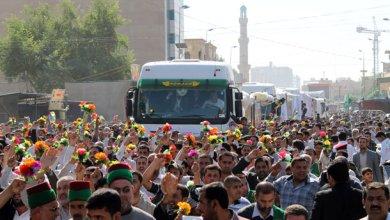 صورة كربلاء: تستقبل الشباك الجديد لضريح الإمام الحسين عليه السلام