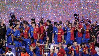 صورة كرويف يطالب لاعبي برشلونة بعدم التفكير كثيرا في ريال مدريد