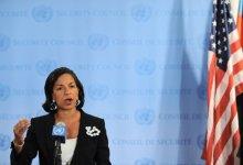 صورة رايس تدافع عن نفسها بقضية بنغازي