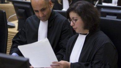 صورة المحكمة الجنائية الدولية تعارض العفو عن جرائم ارتكبها معارضون للقذافي