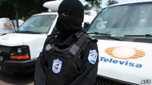 صورة المكسيك : مسلحون يقتلون  7 من افراد الشرطة