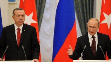صورة بوتين يزور أنقرة وسوريا تتصدر المحادثات