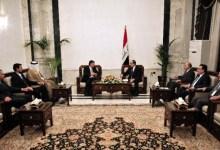 صورة المعارضة السورية تلتقي المالكي لكسب الدعم المعنوي