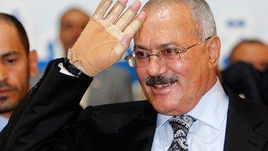 صورة صالح إلى السعودية لاستكمال علاجه